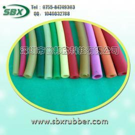 深圳高弹力彩色乳胶管