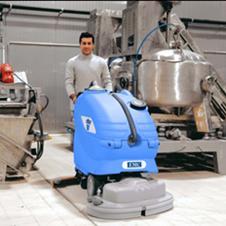美国EMC洗地机 手推式全自动洗地机Amber66/83