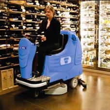 商场保洁用洗地机 美国EMC驾驶式洗地机