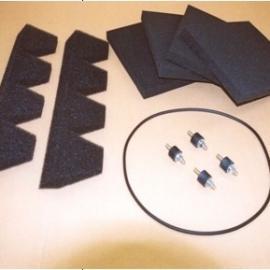 英国FILTERMIST油雾收集器滤芯过滤垫