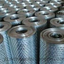 正品热镀锌卷板圆孔网卷板冲孔网