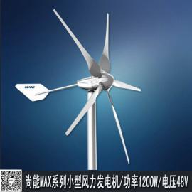 超小型离网风力发电机MAX-1200W