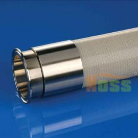 原装进口制药级夹钢丝硅胶软管 无毒无味进口硅胶软管