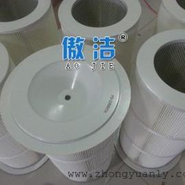 3290PTFE覆膜除尘滤筒 空气滤芯 粉尘过滤筒价格