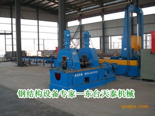 H型钢矫正机江苏厂家 非标定制机械矫正机液压矫正机