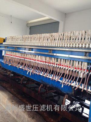 厢式压滤机压泥机800系列浙江湖州