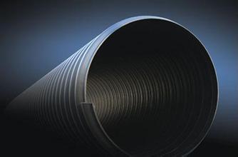 HDPE钢带缠绕增强螺旋波纹管
