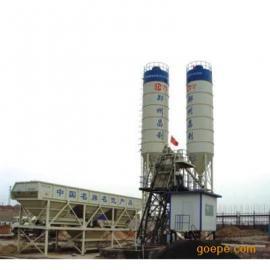 一方主机配套HZS50型混凝土搅拌站昌利建机厂家报价