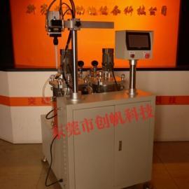 AB双组份液态硅胶自动混合定量真空注胶机,滤清器灌胶机