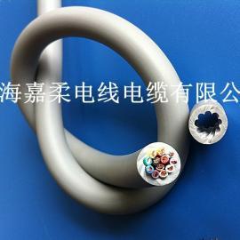 耐磨拖链电缆 屏蔽拖链电缆