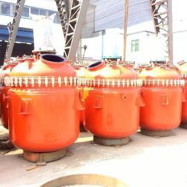 供应各种规格型号反应釜 不锈钢反应釜 电加热反应釜 搪瓷反应釜