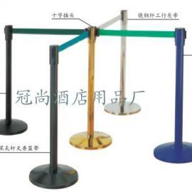 现货供应LG-M型 伸缩带栏杆座 警戒线 安全护栏一米线