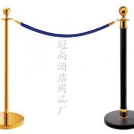 供应冠尚LG-B型 圆头栏杆座 隔离带 银行 一米线
