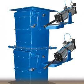 兴展优质QFSXF-II气动锁风翻板卸灰阀