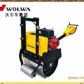 GNYL24C高配置手扶式单钢轮压路机 悬挂式单轮压路机