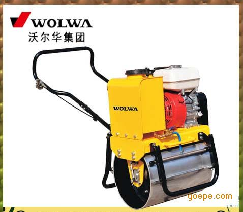 沃尔华0.3吨手扶式单钢轮压路机 隧道震动压路机