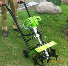 果园锄草松土机,手推式小型松土机耕地机