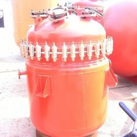 厂家直销 搪玻璃反应釜 搪瓷反应釜 搪玻璃反应釜公司加热搪瓷罐