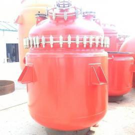 搪玻璃反应釜、反应罐、搪瓷反应釜、电加热釜、蒸汽加热釜