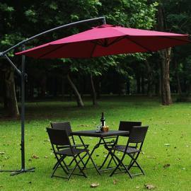 西安庭院太阳伞制作厂家 户外庭院太阳伞 大型太阳伞