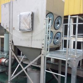 脉冲滤筒集尘机-食品加工行业