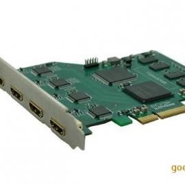 HDMI视频采集卡4路HDMI高清视频采集卡多路影像卡