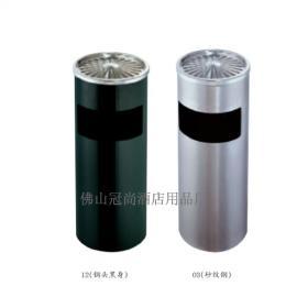 厂家直销GPX-30菊花格座地烟灰桶 室内不锈钢垃圾桶
