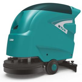 无锡商场保洁用洗地机 特沃斯TVX手推式洗地机T45