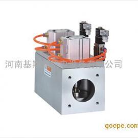 GDQ-JS三通式气动高真空挡板阀