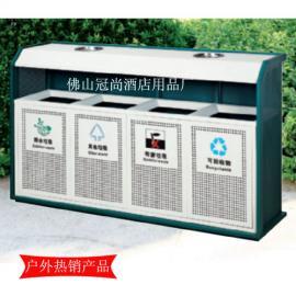 【供应】GPX-147四分类环保垃圾桶 公园多功能垃圾桶