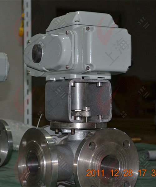电动四通球阀-四通电动球阀-智能调节式电动球阀