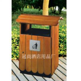 【供应】GPX-143别墅户外垃圾桶(进口衫木)环卫垃圾桶