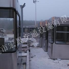 湖南专业生产高速公路收费亭的厂家,长沙不锈钢收费亭制作