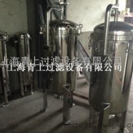 DL-1P1S、1P2S、1P4S不锈钢袋式过滤器