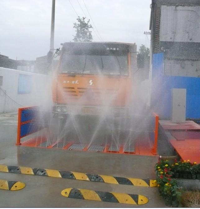 工地车辆自动冲洗设施