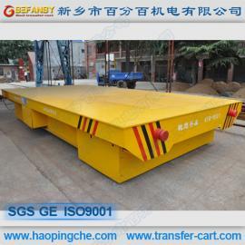 仓储物流设备钢水搬运车电动平板拖车
