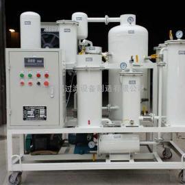 ZJD-R-6润滑液压油除酸再生氧化变色多功能小型滤油机