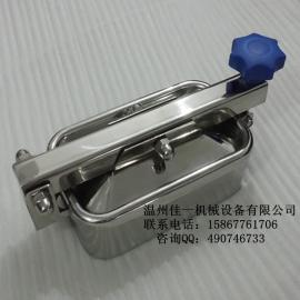 温州厂家提供卫生级不锈钢方形手孔盖(快开矩形手孔)