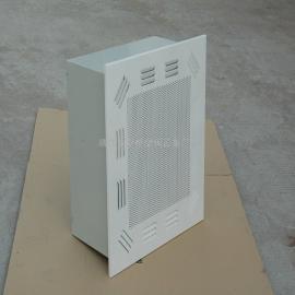 宜兴地区净化车间高效静压箱送风口、高效过滤器送风口