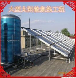 克拉玛依酒店、宾馆、企业宿舍太阳能大型集热器热水工程