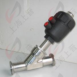 蒸汽角座阀|卫生级气动角座阀