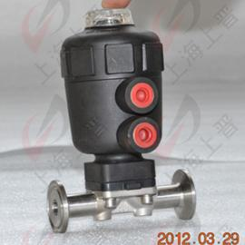 常闭式气动隔膜阀卡箍连接不锈钢316材质