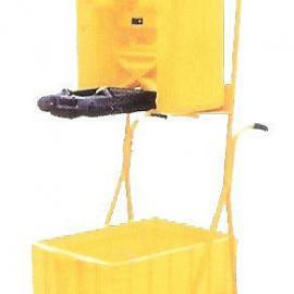 便携移动推车式洗眼桶LDXY0012