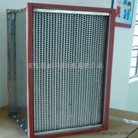 铁框有隔板高效空气过滤器