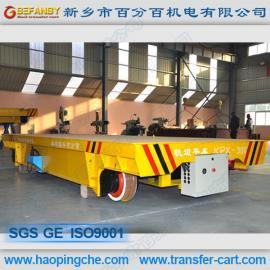 仓储物流设备钢包运输车电动平板拖车