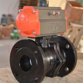 Q641F-16C铸钢气动球阀
