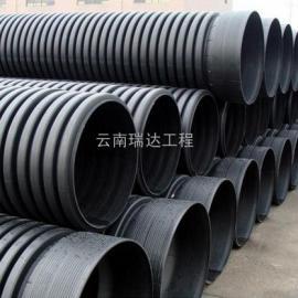云南HDPE双璧波纹管、云南HDPE波纹管、云南波纹管厂家