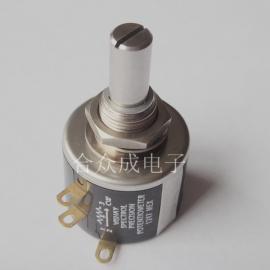 VISHAY电位器,533-1-1,3圈电位器