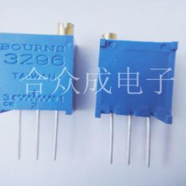 3296电位器,3296可调电阻,顶调电位器,侧调电位器