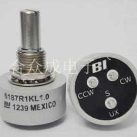 导电塑料电位器 6187R 1K 2K 5K 10K